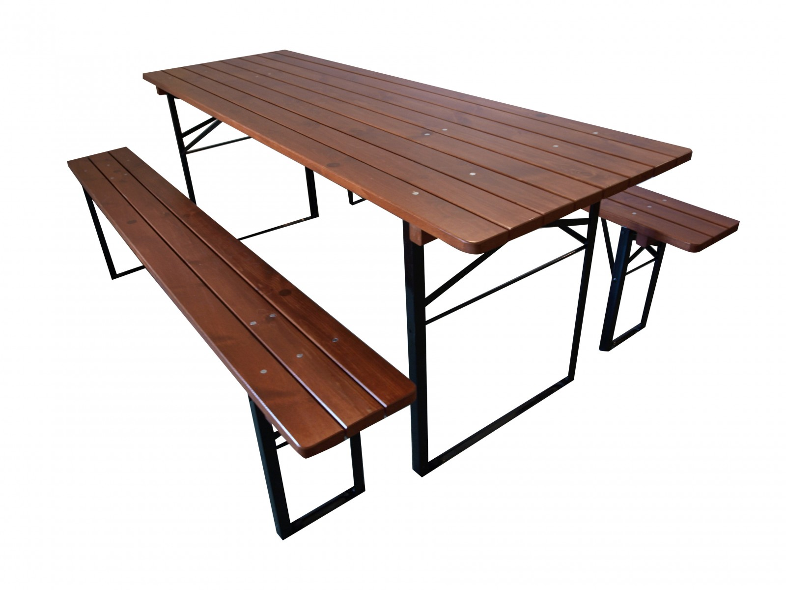 Inne rodzaje Bawaria 08 - Zestawy - Meble ogrodowe drewniane - ławki ogrodowe VU96