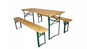 beer sets - beer garden furniture - beer benches - beer tables - brewery quality